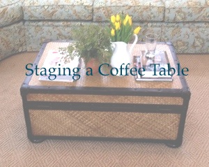 staging a coffee table – a work in progress | cup of tea