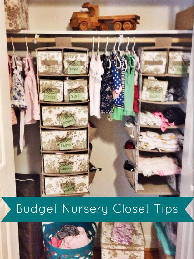 Budget Nursery Closet Tips | The Cup of Tea blog
