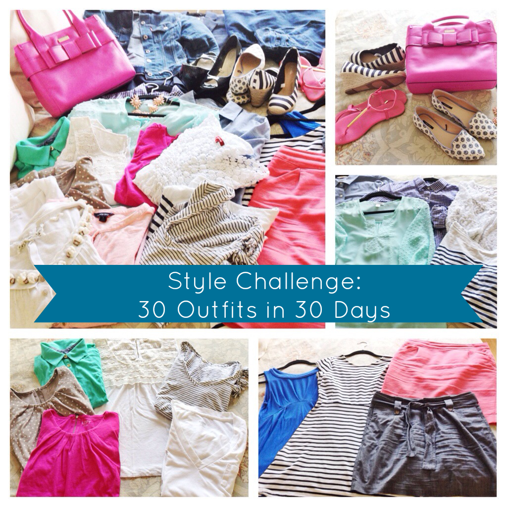 Style Challenge 30 Outfits in 30 Days | Cup of Tea blog