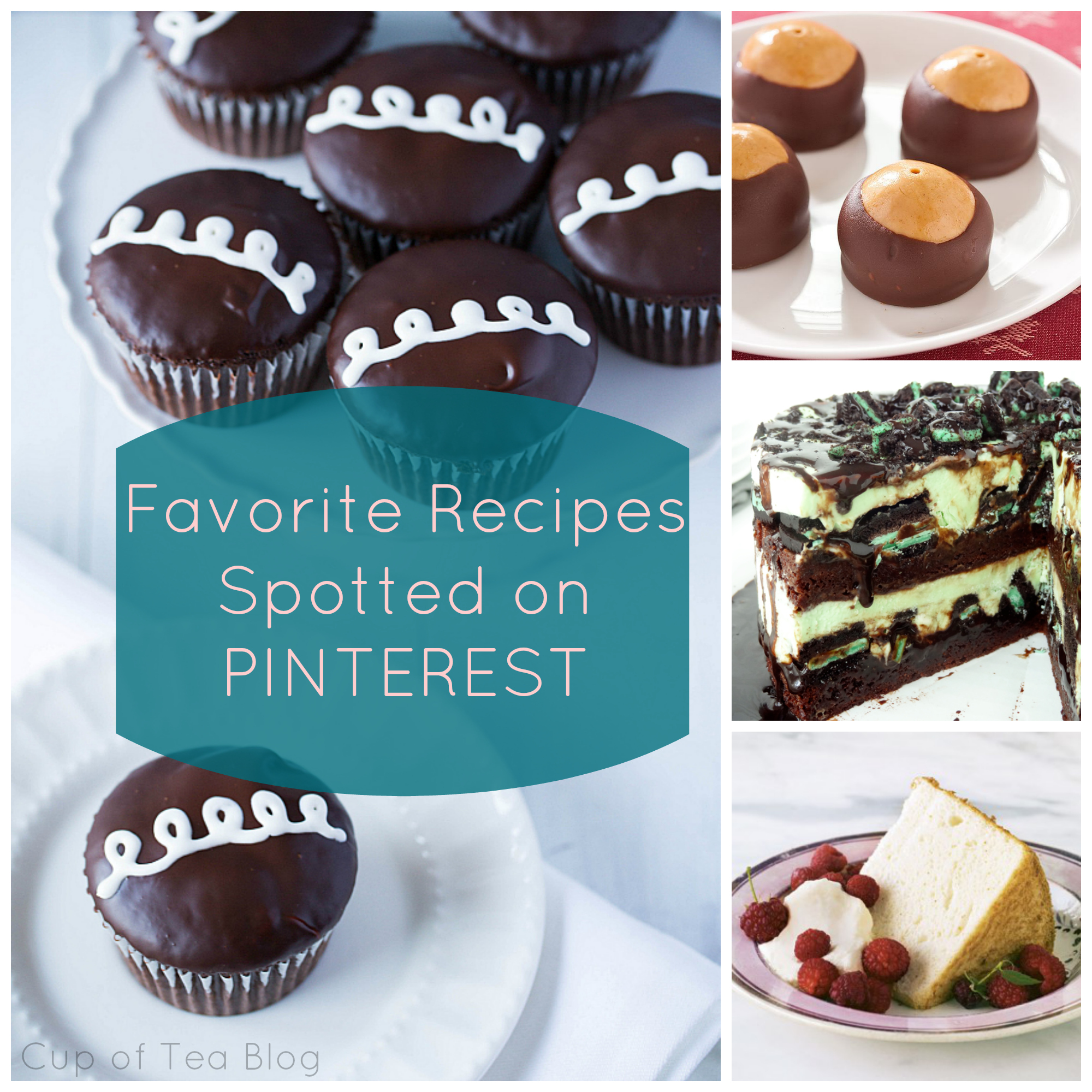 Favorite Recipes from Pinterest | Cup of Tea blog