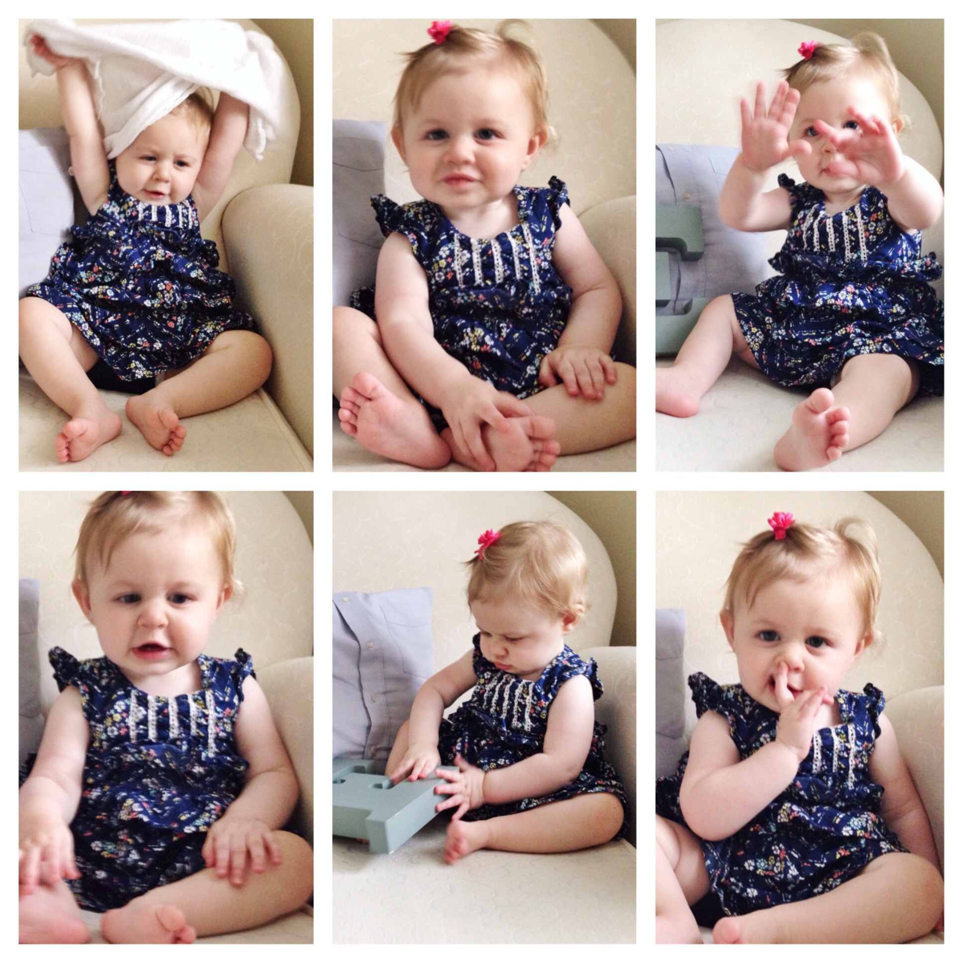 Elizabeth 11 Month Bloopers