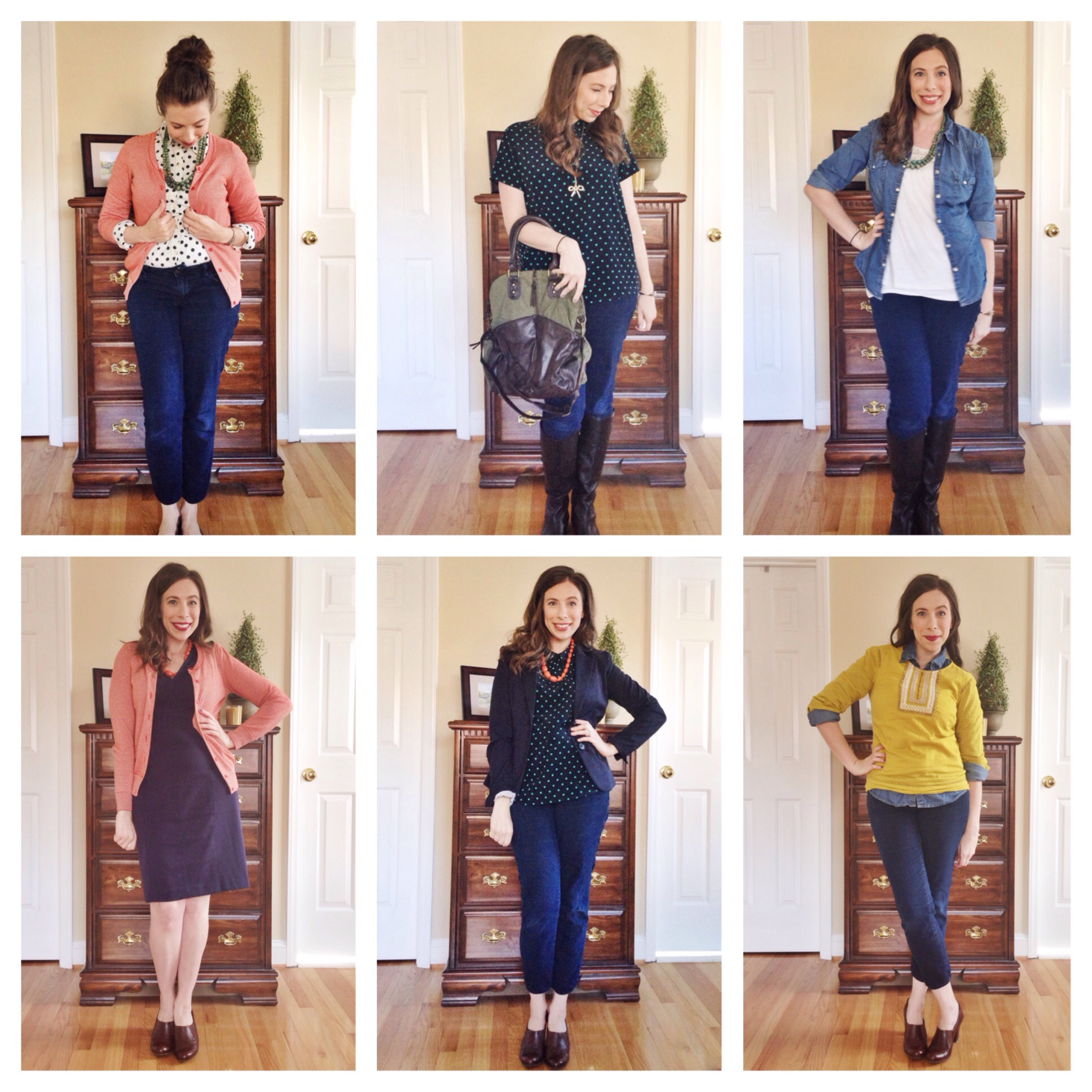 30 Outfits 30 Days Style Challenge Day 19-24 on Cup of Tea