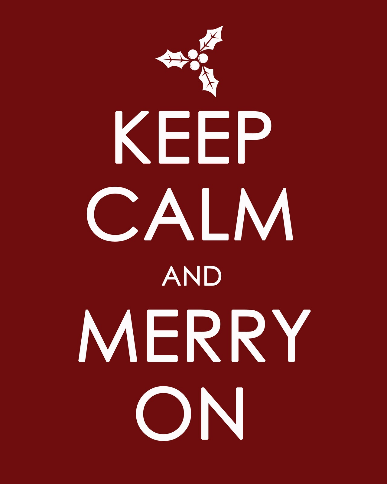 Image result for keep calm its christmas meme