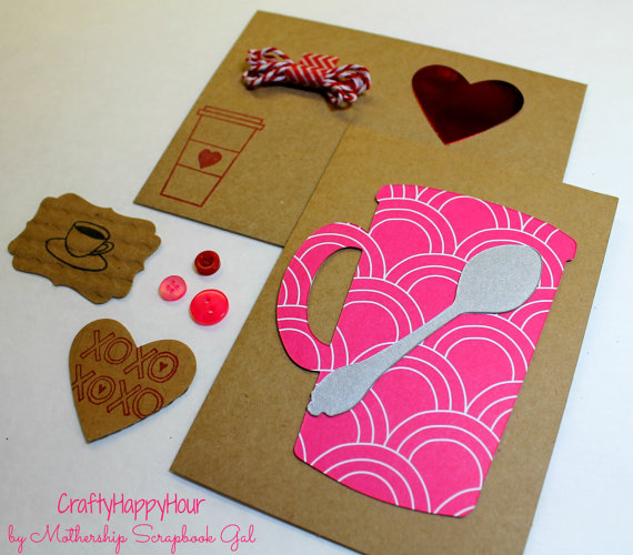 Coffee DIY Kit Valentines
