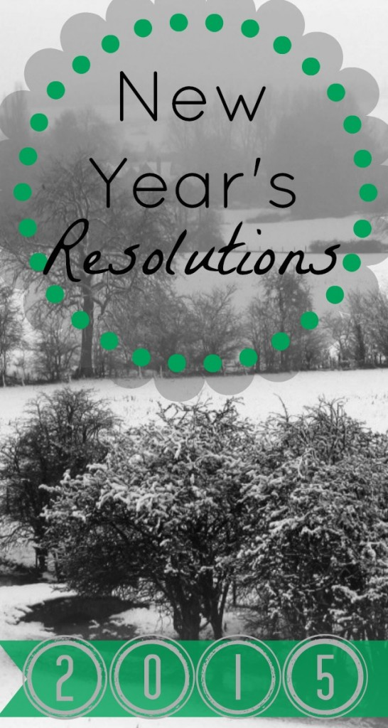 New Year's Resolutions 2015 on the Cup of Tea blog
