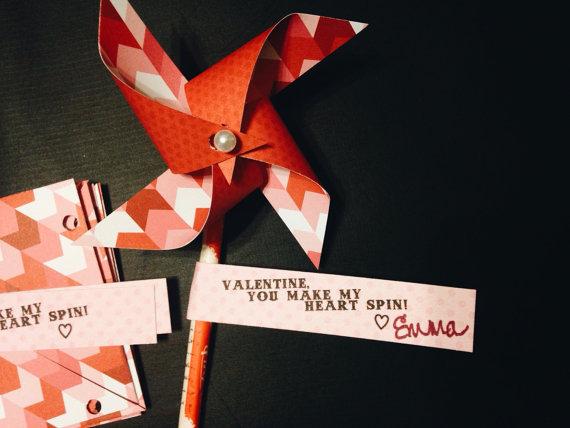 Pinwheel Valentine