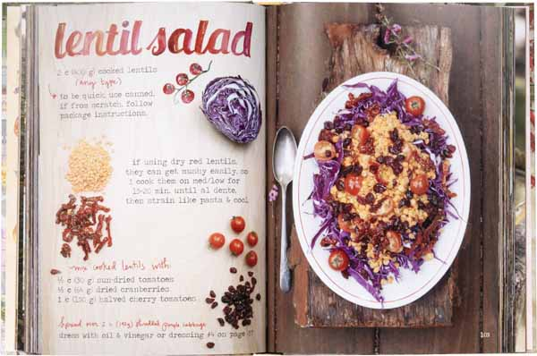 The Forest Feast - Lentil Salad example recipe