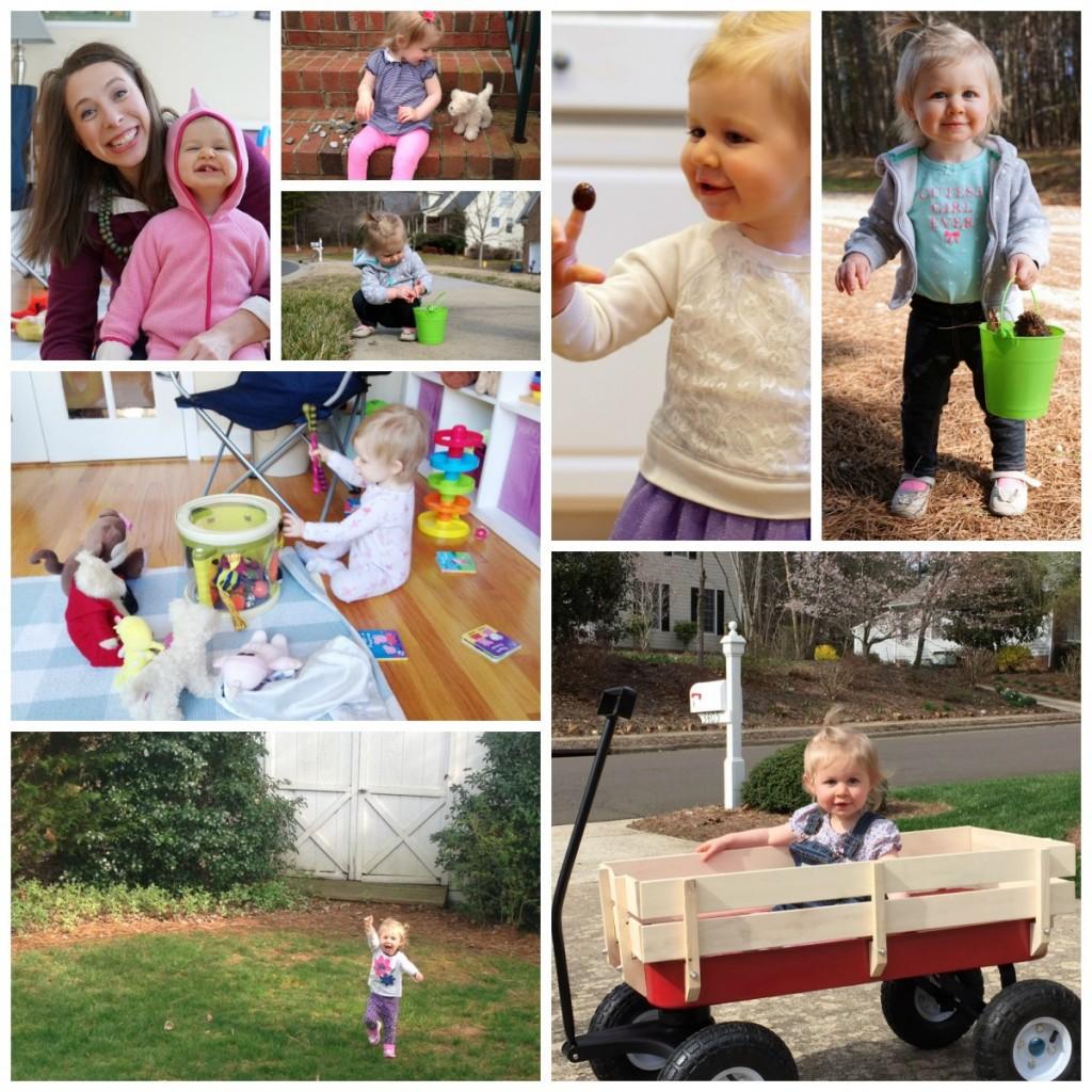 Sharing Elizabeth's 18 Month Update and an Half Birthday Celebration!