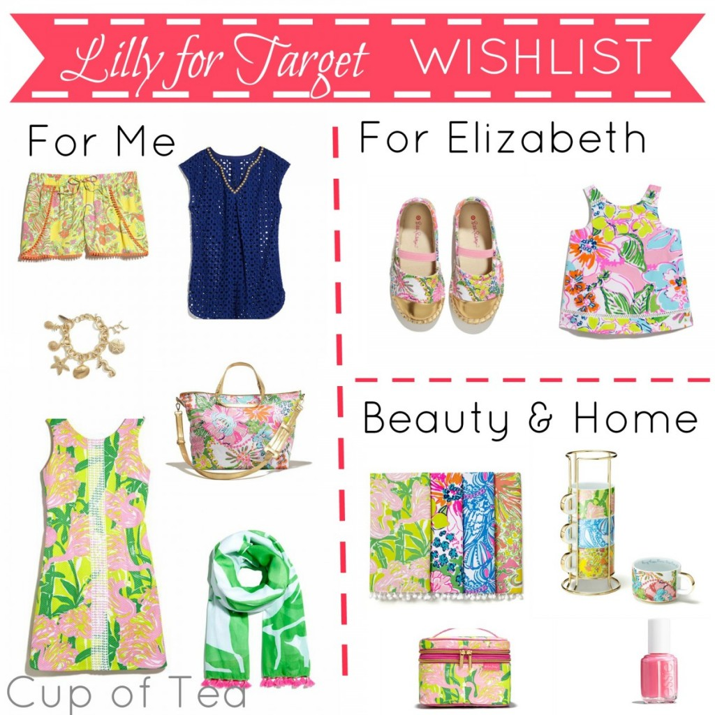 A wishlist for Mommy, Toddler, Home & Beauty from the new Lilly for Target collection