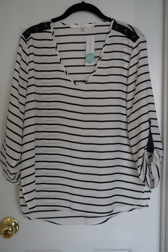 Stitch Fix #1 Review from Cup of Tea Blog
