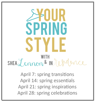 Your Spring Style Link Up with In Residence and Shea Lennon