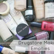 Drugstore Makeup Empties Video