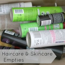 Drugstore Haircare & Skincare Empties