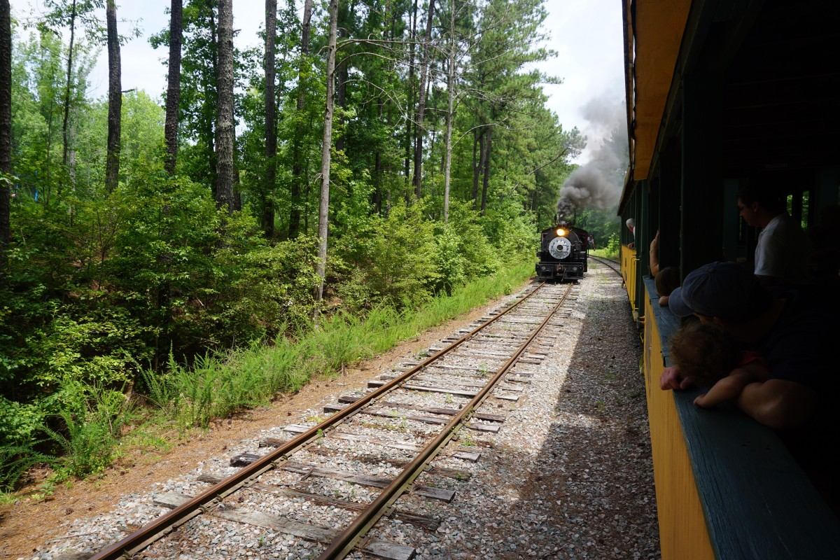 A family fun day at the New Hope Valley Railroad