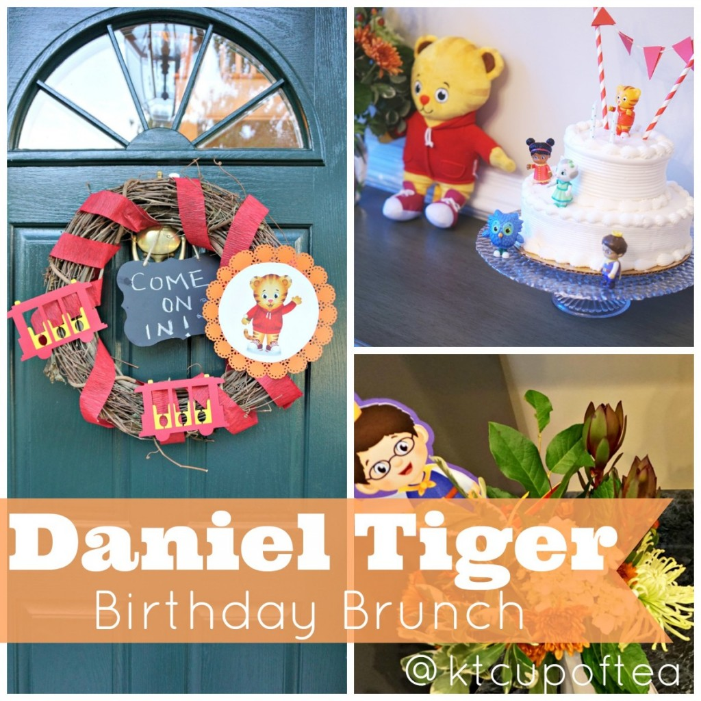 A Daniel Tiger Birthday Brunch