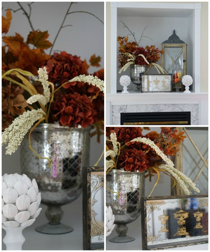 Really pretty fall decorating ideas!