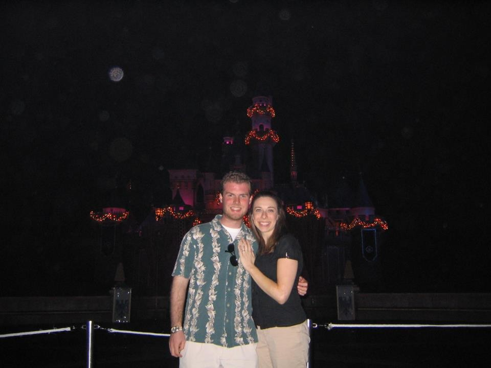 Engaged at Disney Land 9 years ago!