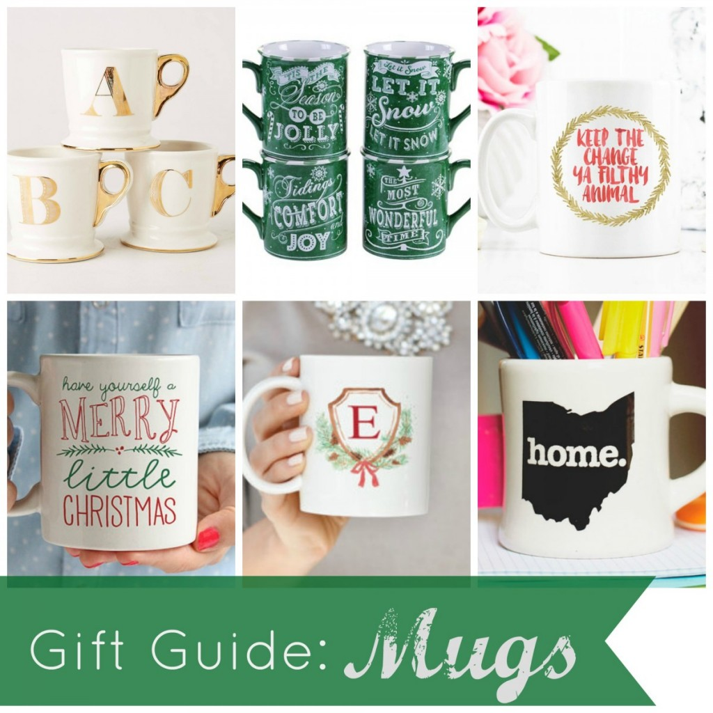A Christmas Gift Guide to the perfect mug!