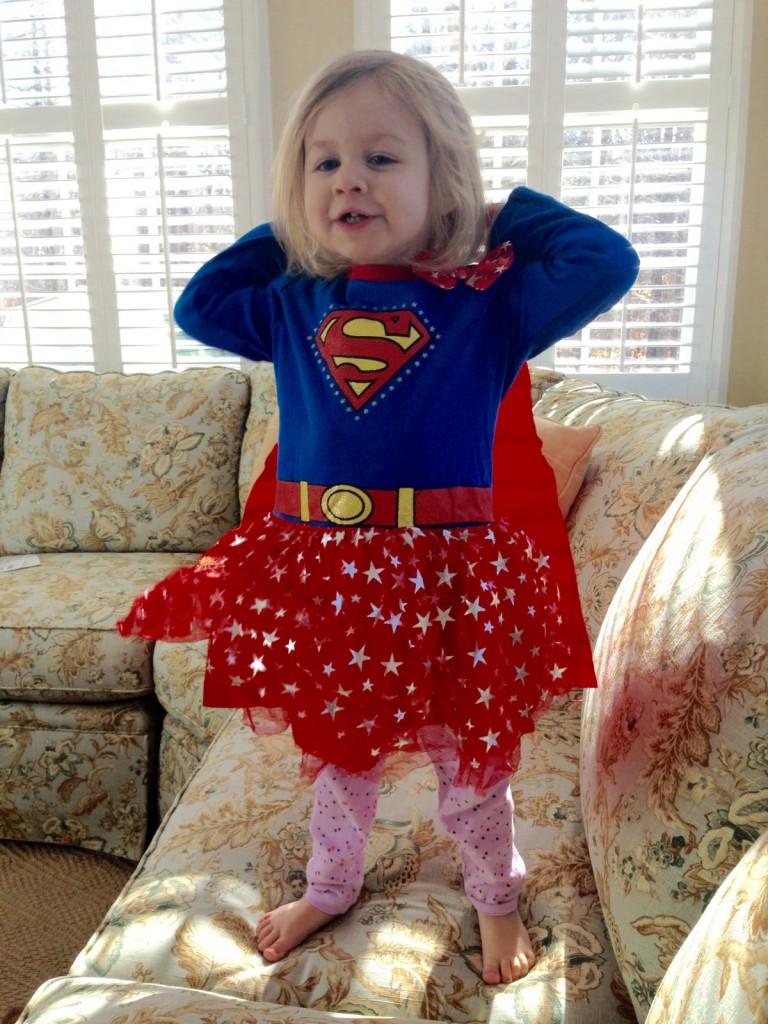 Superhero Costume time!