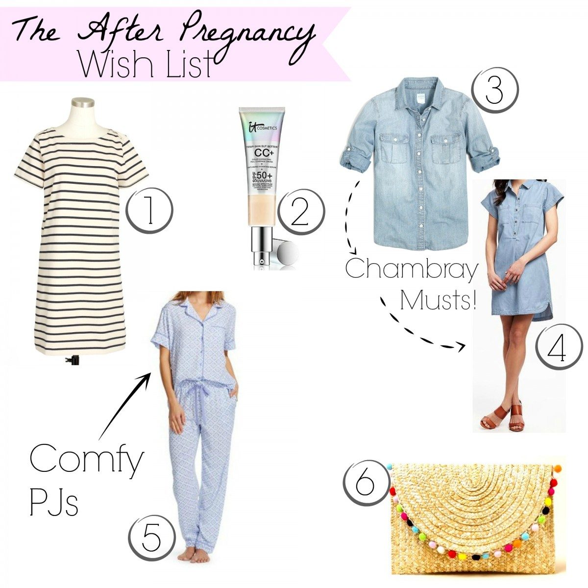 With pregnancy wrapping up, here are some items to purchase AFTER you have the baby!