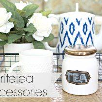 Top Tea brands and tea accessories