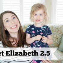 An Interview with Elizabeth at 2.5 years old.