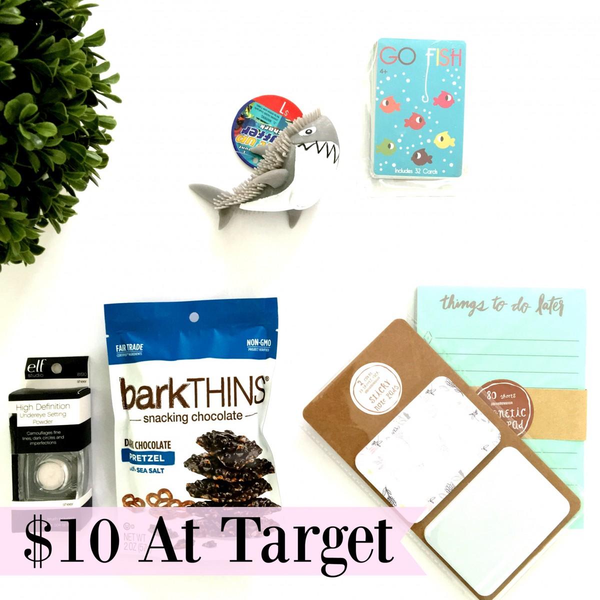 $10 Haul at Target