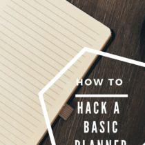 basic planner hack