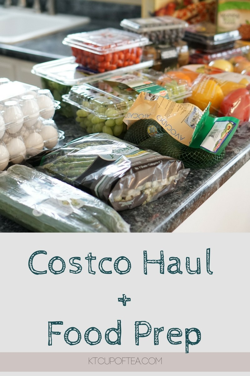 Costco Haul and food prep